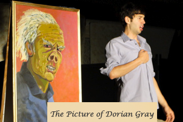 Dorian Gray with picture